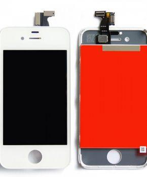 iPhone 4S scherm wit