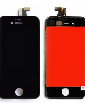 iPhone 4S scherm zwart