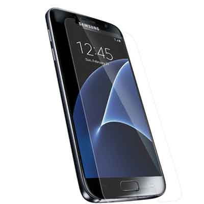 Samsung Galaxy S7 glazen screenprotecor - transparant - 9h - 0,3 mm