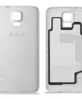 Voor Samsung Galaxy S5 Accudeksel  - Wit -originele kwaliteit