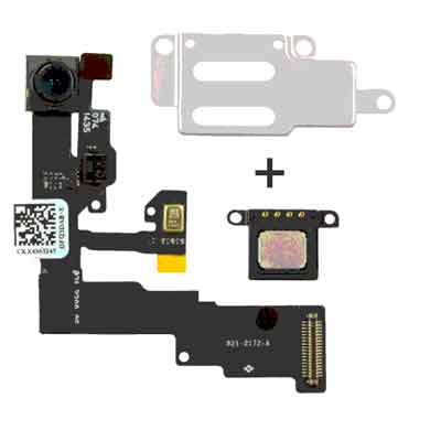 Iphone 6 frontcamera met proximity flex + speaker + bracket