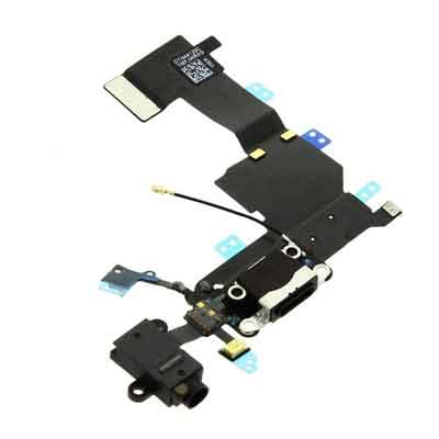 Dock Connector voor iPhone 5C - zwart