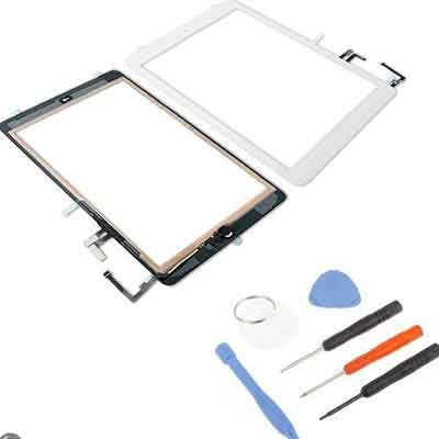iPad Air scherm digitizer touchscreen wit
