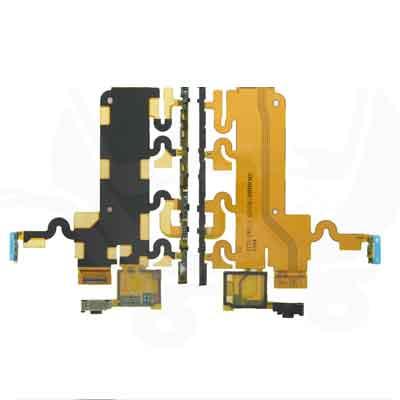 Sony Xperia Z1 Zijknoppen Flexkabel