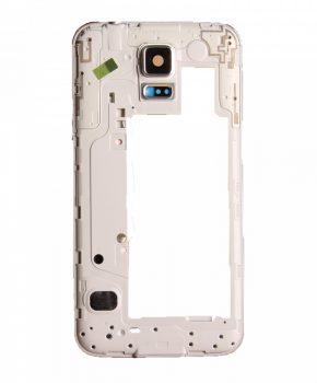 Samsung Galaxy S5 Neo G903F Midden frame zilver - originele kwaliteit