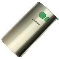 Samsung Galaxy S7 Edge Batterij Cover Goud - originele kwaliteit - met camera lens+ cover