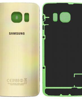 Samsung Galaxy S6 Edge Batterij Cover Goud - originele kwaliteit