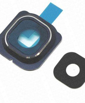 Samsung Galaxy S6 Edge Camera Lens Cover Blauw inclusief lens