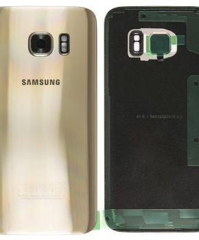 Samsung Galaxy S7 achterkant - Goud - originele kwaliteit incl. lens