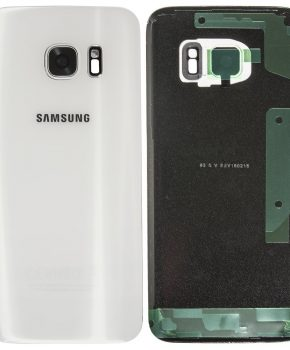 Samsung Galaxy S7 achterkant - Wit - originele kwaliteit - met camera lens