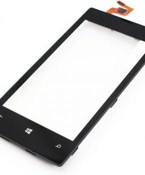 Nokia Lumia 520 525 Touchscreen + Frame Zwart