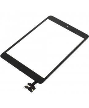 iPad Mini Versie 2 Incl. IC, Homebutton, Flex Touchscreen Display Zwart