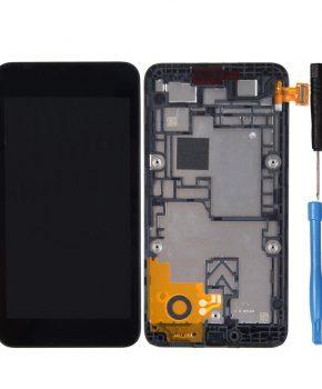 Nokia Lumia 530 LCD met touchscreen module - zwart