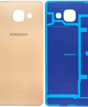 Samsung Galaxy A3 2016 Accudeksel - Goud