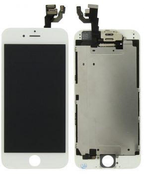 iphone 6 scherm incl alle onderdelen voorgemonteerd  -Wit