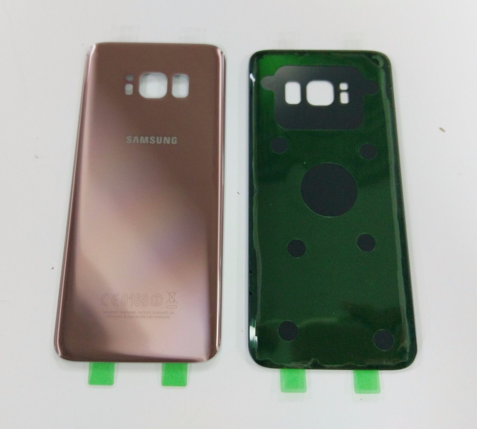 Samsung s8 achterkant – Pink Rose – originele kwaliteit