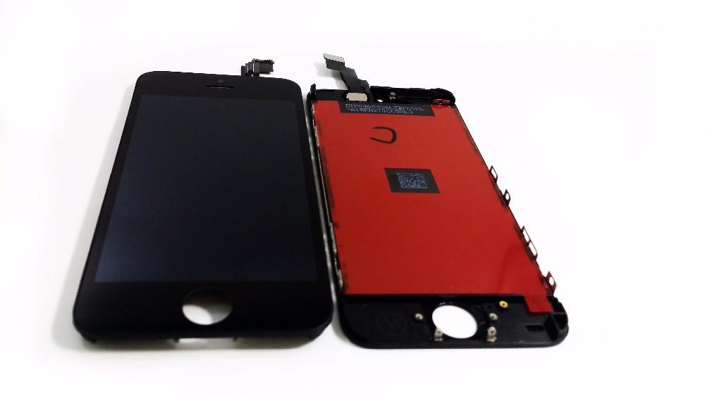 Iphone 5 scherm - zwart - met gratis reparatie kitje