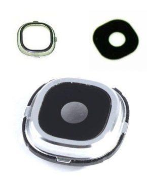 Samsung Galaxy S4 - camera lens cover zilver met lens