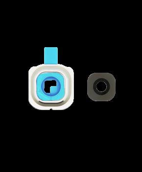 Samsung S6 Edge Plus camera lens cover met lens (glas) - Goud