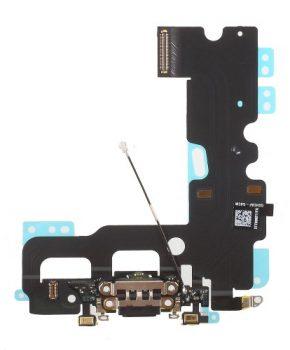 Iphone 7 dock connector  oplaad flex kabel - zwart