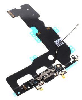 Iphone 7 Plus dock connector  oplaad flex kabel - zwart