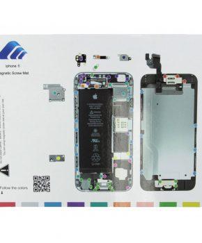 Magnetische schroeven mat -voor iphone 6