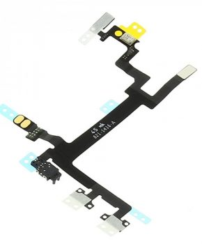 voorgemonteerd iPhone 5 power-button en volume flex kabel