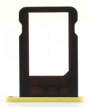 Simkaart houder voor iPhone 5c - Geel