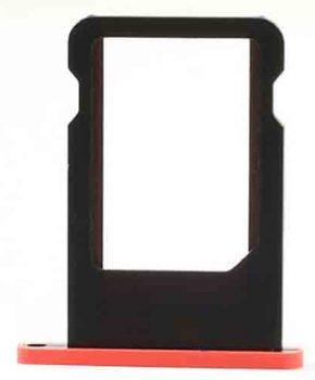 Simkaart houder voor iPhone 5c - Rood