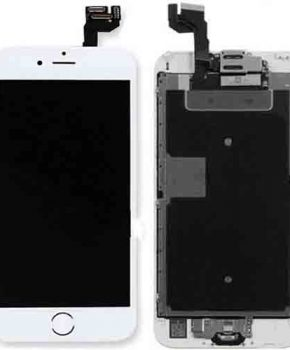Voorgemonteerd Iphone 6S PLUS LCD scherm - A+ - Wit & Tools