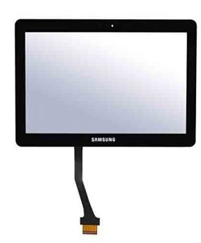 Touchscreen voor Samsung Note Tablet 10.1 N8000 N8010 N8013 Compleet - Zwart