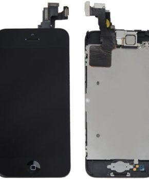 Voorgemonteerd iPhone 5C LCD scherm - Zwart -A+ kwaliteit