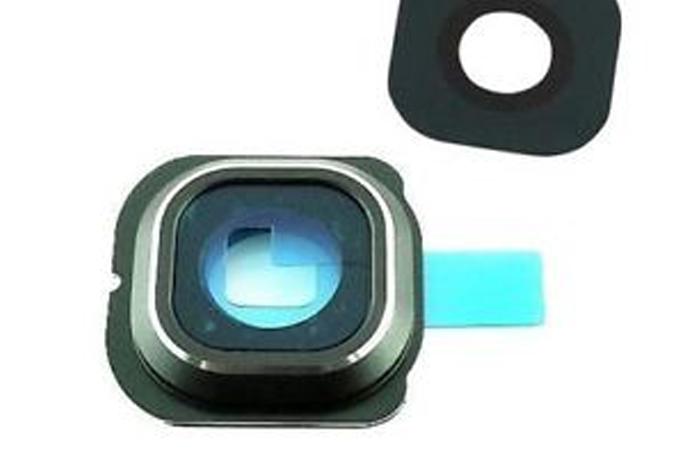 Samsung s6 Edge camera cover – groen – inclusief lens