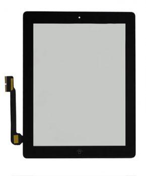 iPad 3 scherm  - zwart - A+ kwaliteit