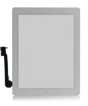 iPad 3 scherm  - Wit - A+ kwaliteit