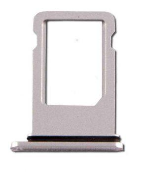 Simkaart Houder voor Apple iPhone 8 - Zilver