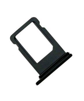 Simkaart Houder voor Apple iPhone 8 - Zwart