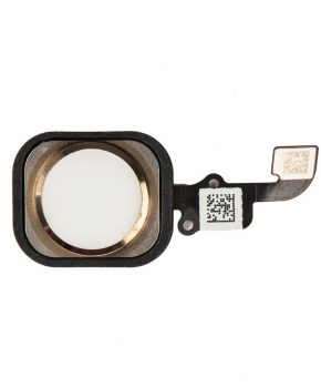 iPhone 6 & 6 Plus home button met flex kabel - Goud