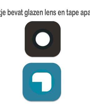 Voor Samsung S6 / S6 Edge camera lens glas - Goud