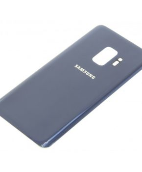 Voor Samsung Galaxy S9 Plus achterkant glas - Blauw