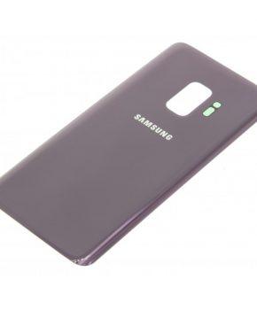 Voor Samsung Galaxy S9 achterkant glas  - Purple