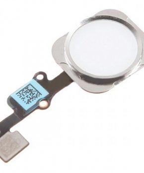 iPhone 6S & 6S Plus home button met flex kabel - Wit