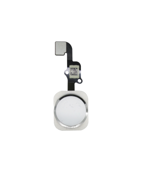 iPhone 6S & 6S Plus home button met flex kabel - zilver