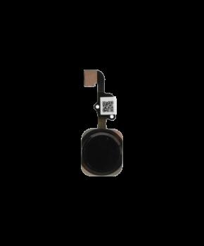 iPhone 6S & 6S Plus home button met flex kabel - zwart