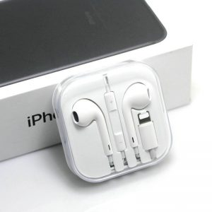 In-ear dopjes voor Iphone 7 - 7 Plus - met lightning connector- Wit