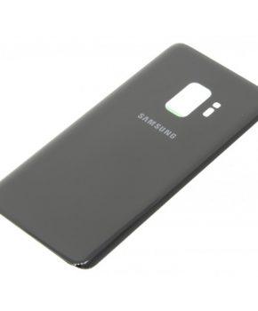 Voor Samsung Galaxy S9 achterkant glas  - Zwart