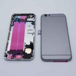 """Complete behuizing voor de iPhone 6 4.7"""" - Grijs"""