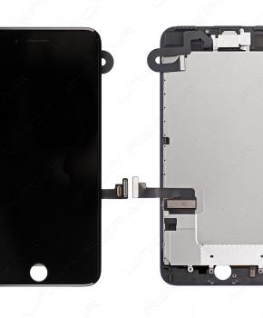 Voorgemonteerde Iphone 7 Plus scherm Zwart AAA+ + reparatiesetje