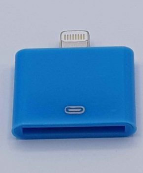 30 Pins Naar Lightning compatible (8 Pin) Kabel Adapter - Voor Ipad / iPhone - Blauw