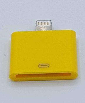 30 Pins Naar Lightning compatible (8 Pin) Kabel Adapter - Voor Ipad / iPhone - Geel